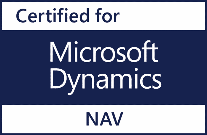 Certified for Microsoft Dynamics NAV